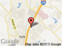 Map of Kyle Inventory at 21701 N. Interstate 35, Kyle, TX 78640