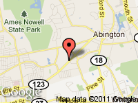 Map of Best Used Auto Sales at 612 Brockton Ave, Abington, MA 02351