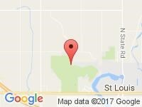 Map of Seeley Auto Sales at 101 Hidden Oaks Dr, Saint Louis, MI 48880-9800