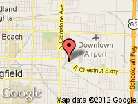 Map of Premier Sportscars Co. at 1950 E. Chestnut Exp., Springfield, MO 65802