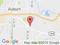 Map of Evergreen Sales and Lease at 33216 Pacific Hwy S, Federal Way, WA 98003