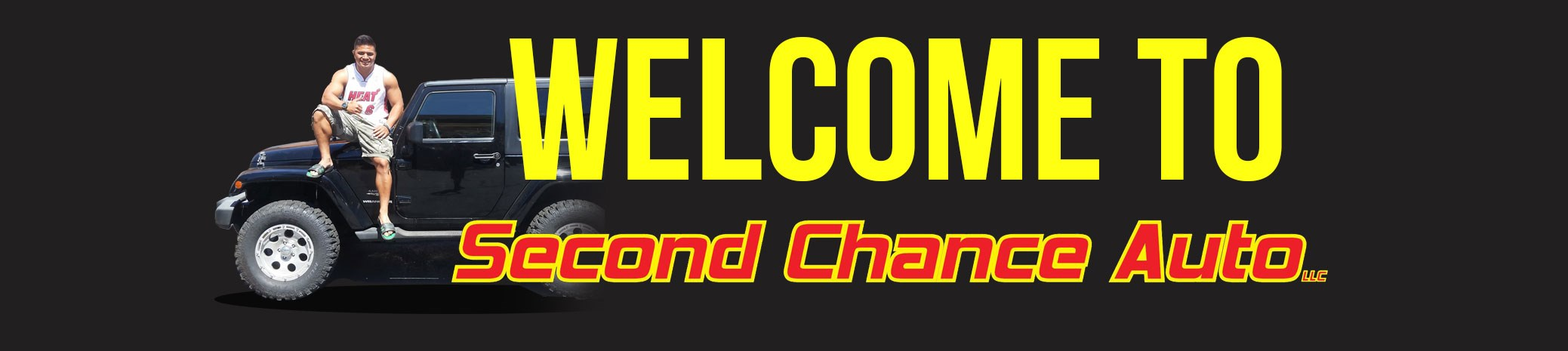 Banner: Welcome to Second Chance Auto