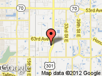 Map of Celebrity Auto Group at 6464 Parkland Drive, Sarasota, FL 34243