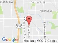 Map of Metro Motors Inc at 3130 S Division Ave, Grand Rapids, MI 49548