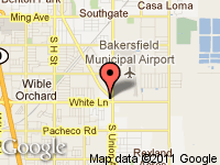 Map of Metro Motors at 4001 S. Chester Ave, Bakersfield, CA 93307