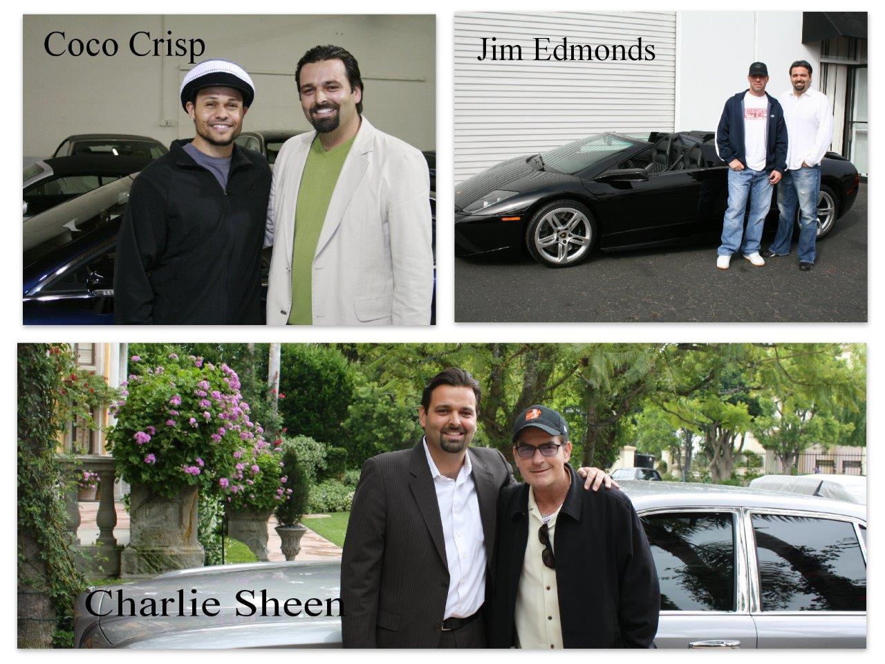 Photos w/ Coco Crisp | Jim Edmonds | Charlie Sheen