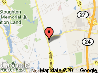 Map of Martin Auto Sales at 108 washington st, North Easton, MA 02356