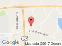 Map of Jackson Lot at 3640 Ann Arbor Rd, Jackson, MI 49202