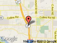 Map of RICK'S at 1945 42nd St. NE., Cedar Rapids, IA 52402