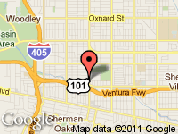 Map of Anytime Auto Group at 4904 Van Nuys Blvd., Sherman Oaks, CA 91403-1701