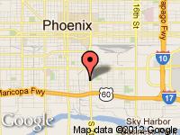 Map of Magic Auto at 1636 S. 7th St., Phoenix, AZ 85034