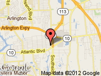 Map of United Imports, Inc at 142 Mill Creek Rd, Jacksonville, FL 32211