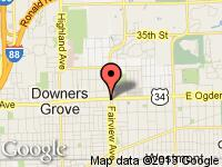 Map of A-Len Auto Sales Inc. at 4305 Fairview Avenue, Downers Grove, IL 60515