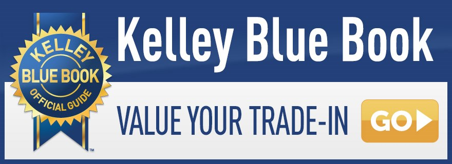 Logo: Kelley Blue Book value your trade in
