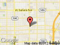 Map of Westside Motors at 3360 S Decater, Las Vegas, NV 89102