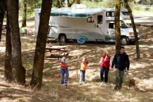 Portland RV camping is fun!