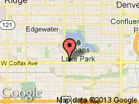 Map of Car Connection Inc at 4939 W Colfax Ave, Denver, CO 80204