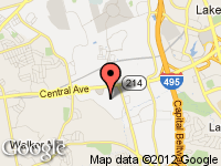 Map of Red Tag Center at 223 West Hampton Ave, Capitol Heights, MD 20743