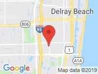 Map of MotorGroup at 2201 W. Atlantic Ave, Delray Beach, FL 33445