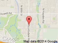 Map of Auto Market at 501 N Scottsdale Rd, Scottsdale, AZ 85257