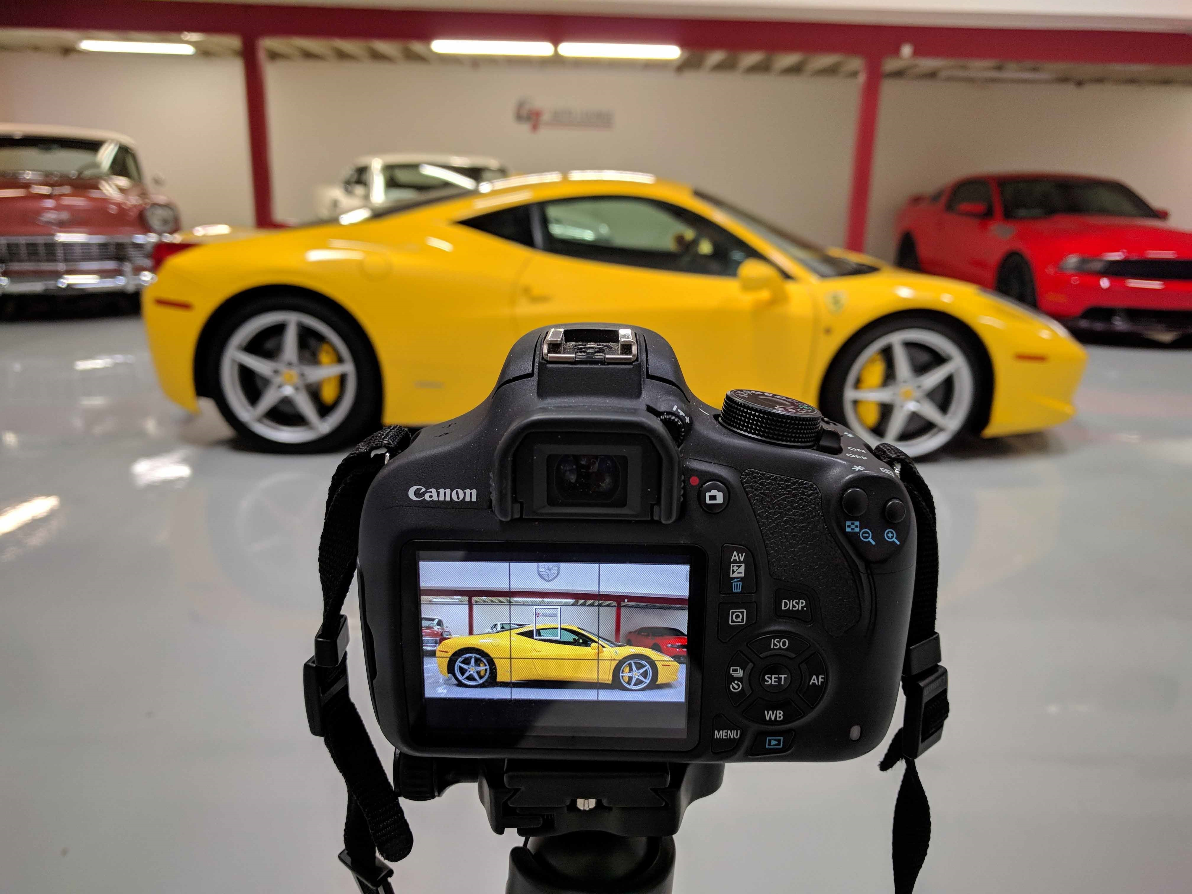 professional car photography