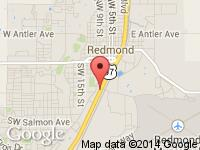 Map of Redmond Motors LLC at 1421 US Highway 97, Redmond, OR 97756