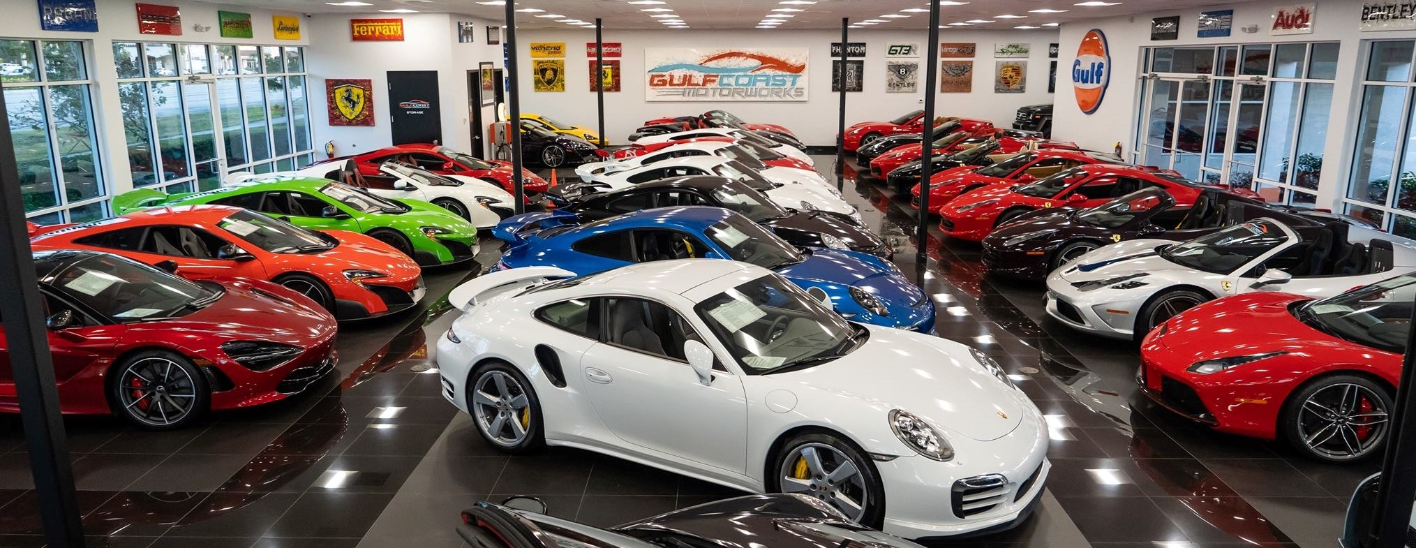 Exotic Car Dealership Sports Cars For Sale Gulf Coast Motorworks