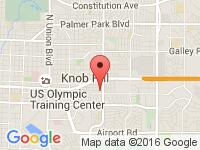 Map of U-Save Car and Truck Rental at 2737 Platte Place, Colorado Spring, CO 80909