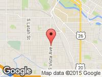 Map of Capital City Auto at 1808 S VISTA AVE, Boise, ID 83705
