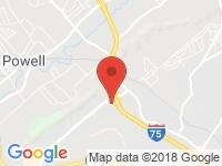 Map of Personal Auto Locator Service at 711 Callahan Dr, Knoxville, TN 37912
