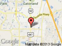 Map of Auto Market of Florida at 2741 N. Orange Blossom Trail., Kissimmee, FL 34744