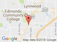 Map of LUXOR MOTORS at 21021 Hwy 99, Lynnwood, WA 98036
