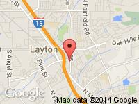 Map of Hatchco Inc. at 338 S Fort Lane, Layton, UT 84041