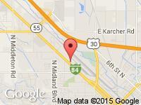 Map of Rob's Road Runner Inc at 464 Caldwell Blvd., Nampa, ID 83651