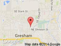 Map of Dayspring Auto & TRAILERS at 786 NE Burnside, Gresham, OR 97030