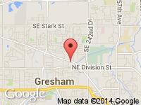 Map of Dayspring Auto & TRAILERS at 786 NE Burnside, Gresham, OR 97030