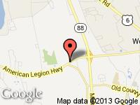 Map of Horseneck Auto Sales at 683 American Legion Hwy, Westport, MA 02790