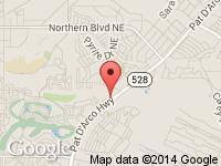 Map of Ram Motors at 4537 Arrowhead Ridge Dr SE, Rio Rancho, NM 87124