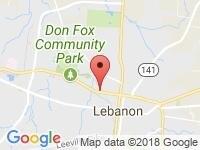 Map of Sam Karaman at 325 W Baddour Parkway, Lebanon, TN 37087