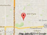 Map of Columbia Motors Inc. at 10820 SE Division St., Portland, OR 97266
