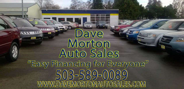 Dave Morton Auto Sales Used Cars Salem Oregon 503 589 0089