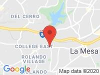 Map of Car For Less at 4949 Baltimore Drive, La Mesa, CA 91942