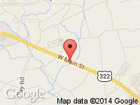 Map of Stoney Ledge Auto Sales, LLC at 2034 W Main Street, Ephrata, PA 17522