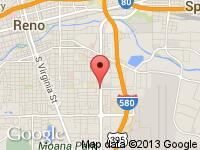 Map of Carco at 1201 Kietzke Lane, Reno, NV 89502
