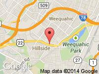 Map of Cars On 22 at Route 22 West/Doremus Place, Hillside, NJ 07205