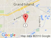 Map of Auto Fleet at 1403 S Locust St., Grand Island, NE 68801