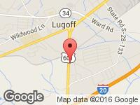 Map of 2nd Gear Motors at 308 HWY 601 South, Lugoff, SC 29078