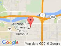 Map of 101Motors at 1901 E 5th St., Tempe, AZ 85281