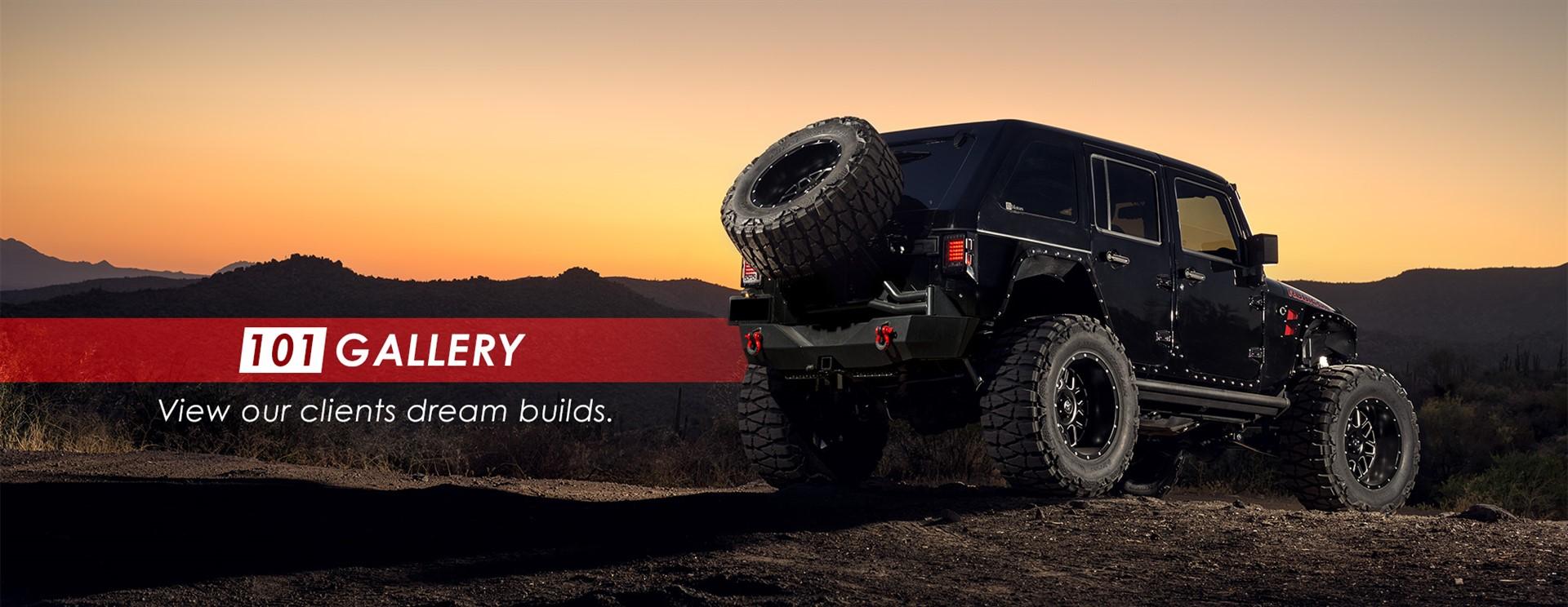 Custom Jeeps Arizona | Used Luxury Cars | 101 Motors