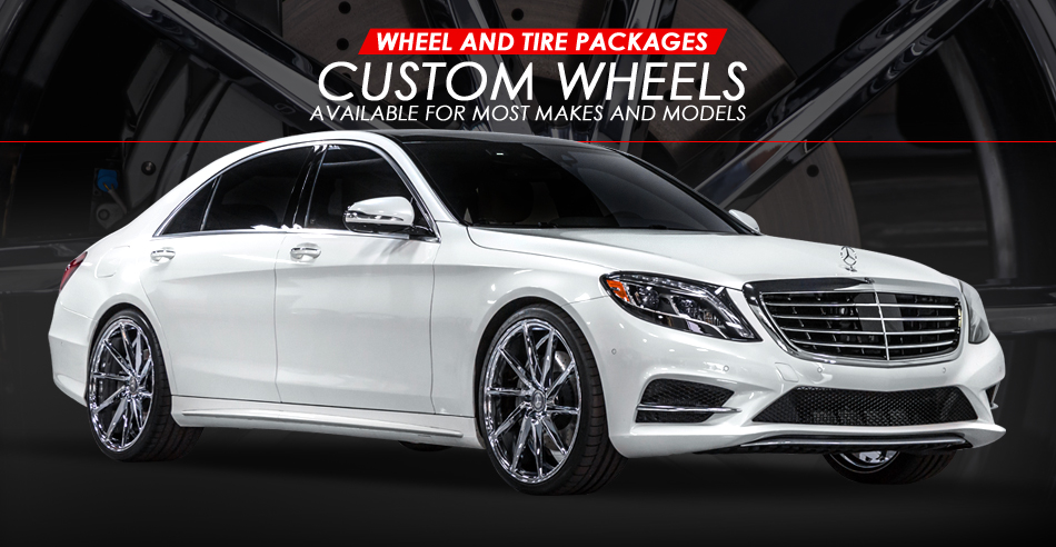 custom wheels, wheel and tire package, upgrade wheels, 101 Motors has custom aftermarket wheel and tire packages for all vehicles and budgets.
